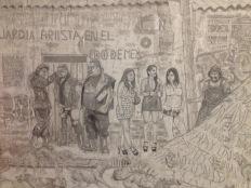 """Alejandro Galván, """"Adatiel (el que camina la tierra)"""" (fragmento), 2015"""