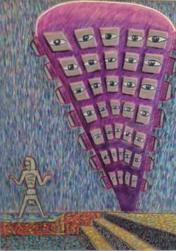 Daniel Padilla, La torre del CENART, 2015