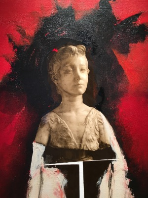 "Marcela Lobo, ""Planchando trapos"" (fragmento), 2013"