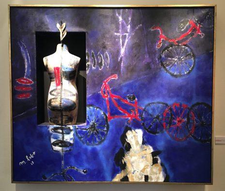 """Marcela Lobo, """"Cuando yo fui bicicleta"""", 2013"""