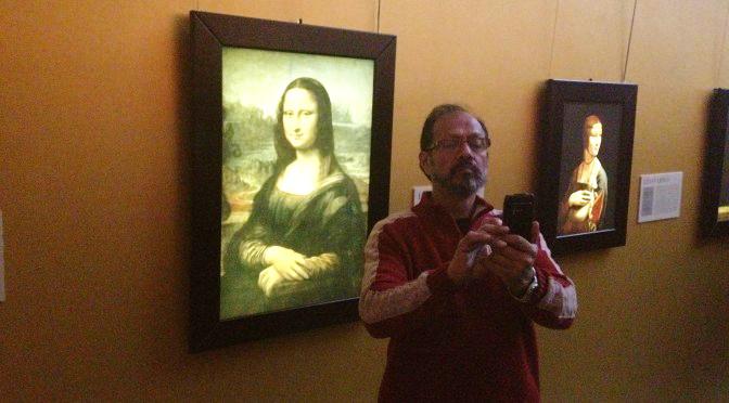 monalisa_selfie
