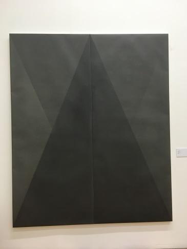 """Sergio Gutiérrez, """"Trazar"""", 2013, grafito sobre papel"""