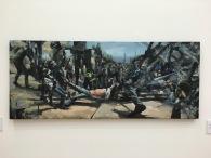 "Antonio Chaurand Pichardo, ""Entropía"", 2016, óleo sobre tela"