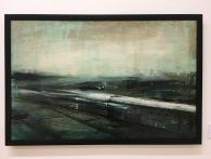 """Krysia González García, """"Vacío"""", 2015, mixta sobre tela"""