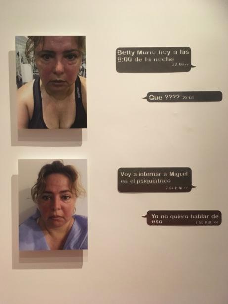 Rosy González, De la serie El poder de lo indisoluble (detalle), 2015-2016