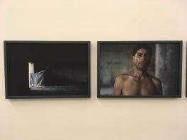 Nahatan Navarro, De la serie Los que se quedan (detalle) 2015