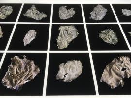 Adriana Calatayud, En torno a la piel. Ejercicio #1: Rastros, de la serie El cuerpo desterritorializado (detalle), 2015
