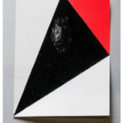 Javier Peláez, Dibujo Doblado #5, carbón y pintura en aerosol, 2016