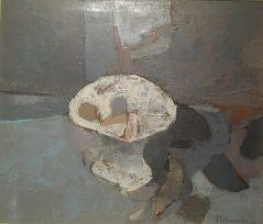 Enrique Echeverría, Frutero Blanco, Óleo, 1967