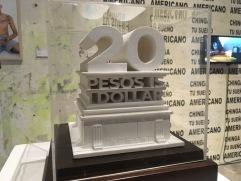 Salón ACME. Carlos Vielma, Modelo para monumento en la frontera, 2017