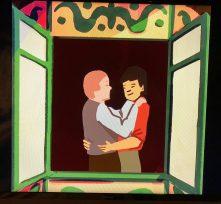 Diomedes Heras, ...A través de cualquier ventana, el amor es amor... (fotograma), Digital, 2018