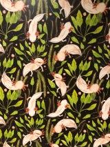 """Andrea Gijón """"AN´G"""", Ajolote pattern, Acuarela y tinta, 2017"""