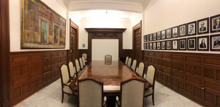 Salón Venustiano Carranza. Fotografía Cuauhtémoc Islas