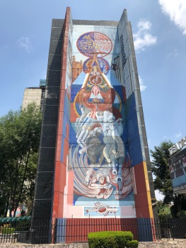 "Nicandro Puente, ""Tlatelolco, raíz y expresión de México"", 1997. Fotografía: Cuauhtémoc Islas"