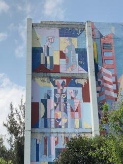 """Nicandro Puente, """"Tlatelolco 1985, sismo y resurrección"""", 1997. Fotografía Cuauhtémoc Islas"""